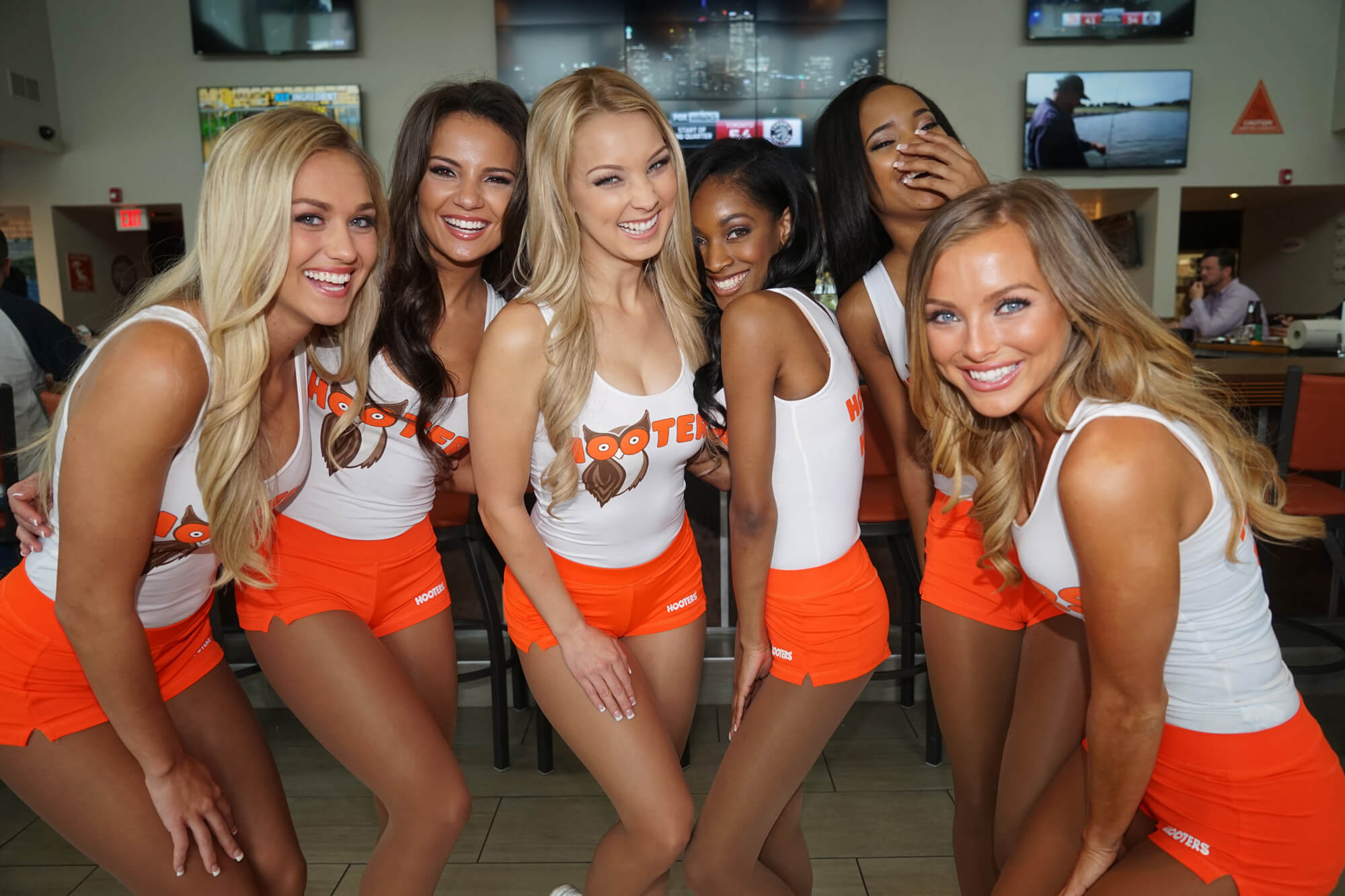 Unsere Hooters Girl