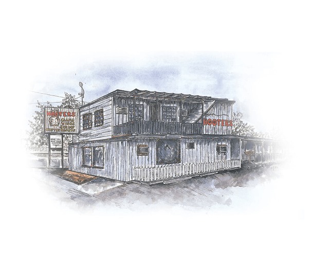 erstes Hooters Restaurant